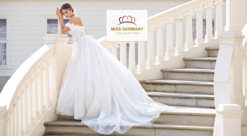 Brautkleid aus der Miss Germany Collection